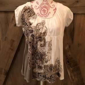 Axcess Paisley Design Blouse